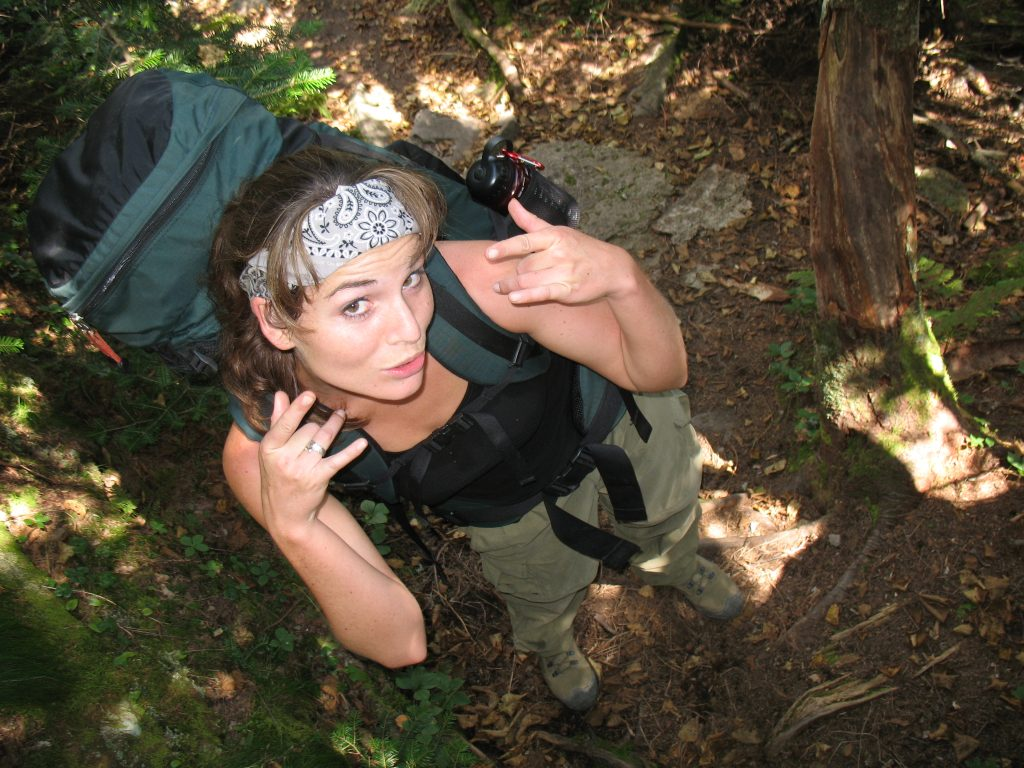 MySpace angles are easy on steep trails.