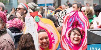 NYC Womens March Vagina Masks