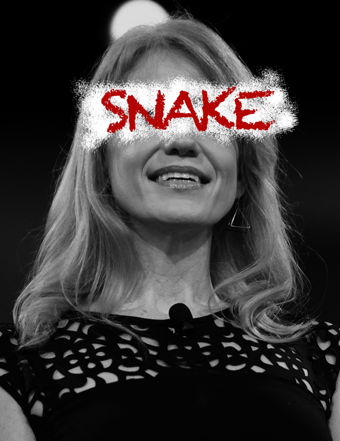 Kellyanne Conway - Snake - Available under Creative Commons 4.0 ShareAlike License