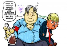 President Bannon Cartoon