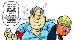 President Bannon Cartoon