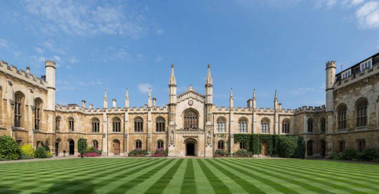 Fancy university building