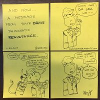 Cartoon: The Democratic Resistance