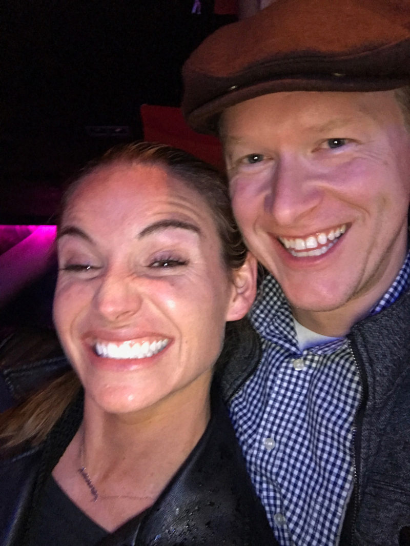 Corky and I at the bar in Cork City, Ireland