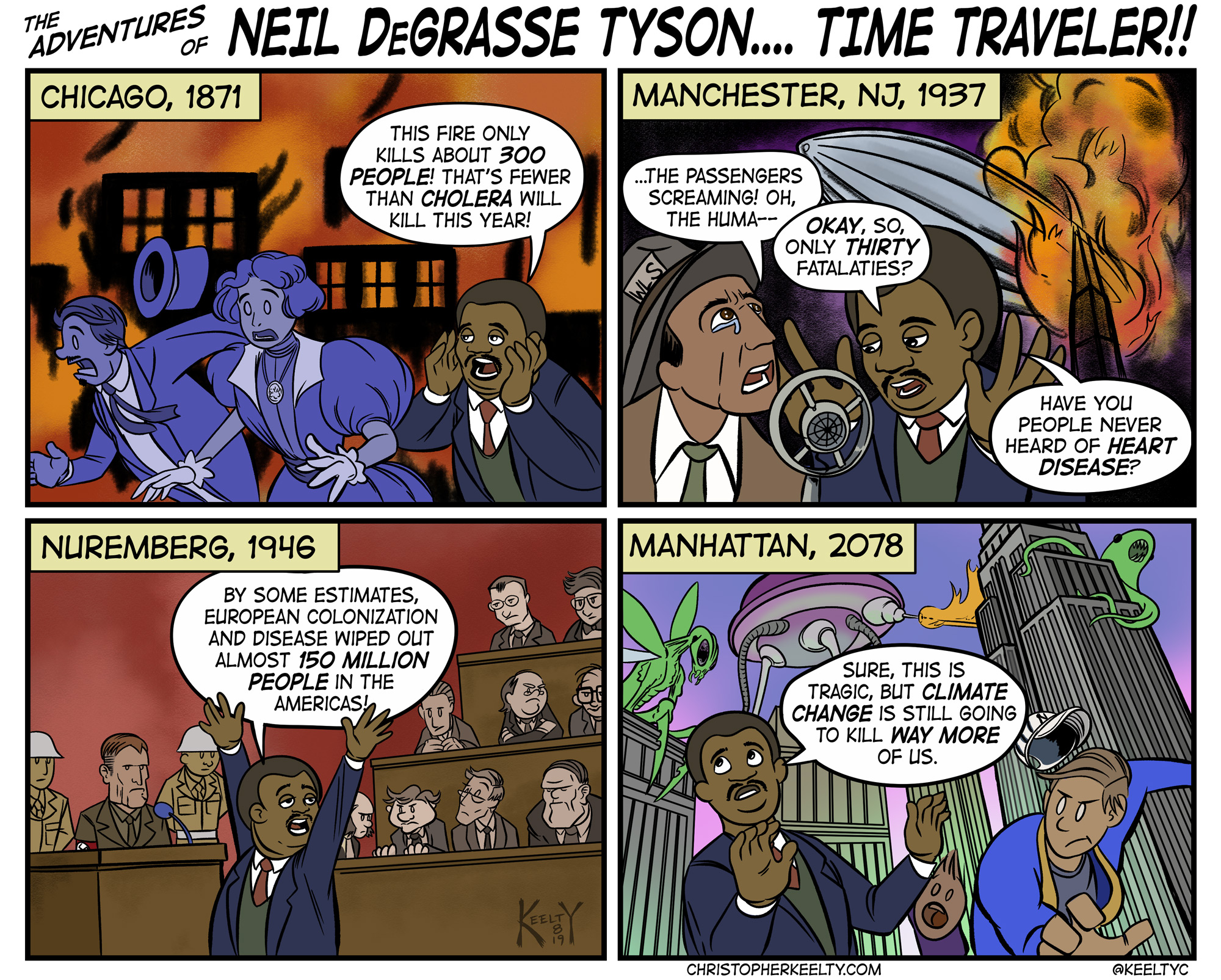 I give it about two weeks before the world forgets Neil DeGrasse Tyson was ever a dick about mass shootings.